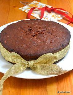 Fruit cake recipe christmas traditional ideas for 2019 Cake Recipe Using Yogurt, Best Fruit Cake Recipe, Fruit Juice Recipes, Eggless Recipes, Eggless Baking, Baking Recipes, Cake Recipes, Plum Cake, Christmas Baking