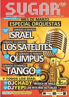 Mes de las Orquestas en el Sugar Club de Lugo.