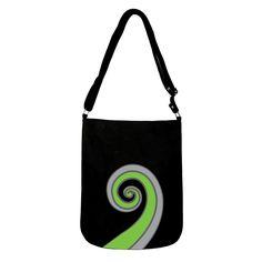 KORU Canvas Shoulder Bag Kiwiana, Canvas Shoulder Bag, Reusable Tote Bags, Gift