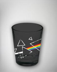 Pink Floyd Dark Side Shot Glass