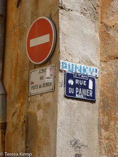 Rue Du Panier Rue, France, Basket, Marseille, French