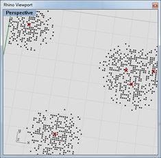 How to change a point grid's density with an attractor? - Grasshopper