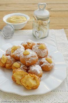 Italian Bakery, Cupcakes, Muffins, Cream Cream, Pretzel Bites, Sweet Recipes, Delicious Desserts, French Toast, Sweets