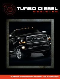 Turbo Diesel Register >> The Turbo Diesel Register Dodge Diesel Owners You Have Found The