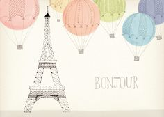 amy borrell................................my two fav things!  The EiffelTower and balloons!