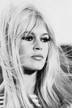 Bridget Bardot, timeless beauty--was there ever a creature more lovely?