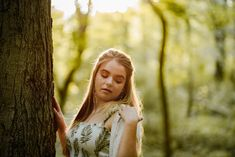 See more from this amazing Cherokee Park senior session on the blog!  #forest #posing #seniorportraits #louisville Cherokee Park, Senior Session, View Image, Senior Portraits, Amazing, Unique, Summer, Blog, Photography