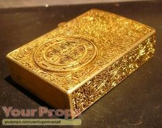 Original Constantine Zippo 5 Side Engraved Gold Plated Lighter