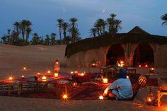 Sleep under the stars in a Bedouin tent