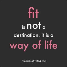 Fit is not a destination. It is a way of life!  Come get your fitness on at Powerhouse Gym in West Bloomfield, MI!  Just call (248) 539-3370 or visit our website http://powerhousegym.com/welcome-west-bloomfield-powerhouse-i-41.html for more information!