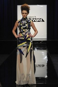 Project Runway: Season 9: Avant Garde challenge: Anthony Ryan Auld