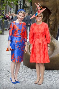The Queen, Princess Mary, Princess Victoria and Queen Maxima: Gallery of the week's best royal style - Foto 10