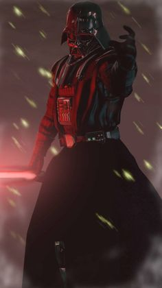 Darth Vader: Dark Lord of the Sith. Star Wars Saga, Vader Star Wars, Star Wars Fan Art, Star Trek, Luke Skywalker, Jedi Sith, Sith Lord, Star Wars Pictures, Star Wars Images