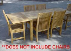 """Bahama 95"""" Rectangular Table w/ Double Leaf Extensions Table Only By Anderson Teak by Anderson Teak. $2070.02. Seats 8 to 12 people.. Grade A Teak. Double built-in butterfly pop-up leaf. Marine Grade fittings to last in all types of weather. This solid Teak """"Rectangular Extension Table"""" makes the perfect addition to your backyard. Our extension table begins as a 59-inch long rectangular and easily extends with detachable leaves to a 95-inch long rectangular in less than 15 sec..."""
