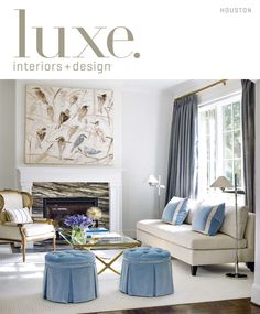 Top 10 Most Popular Luxe Living Rooms from 2015 | LuxeDaily - Design Insight from the Editors of Luxe Interiors + Design
