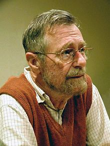 Edsger W. Dijkstra  (11 May 1930 – 6 August 2002) was a Dutch computer scientist[14] and an early pioneer in many research areas of computing science.