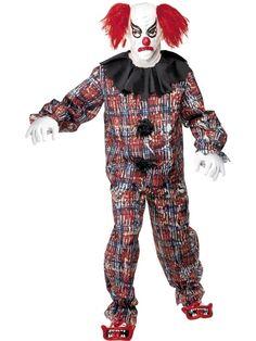 Scary Clown Enge clown horror halloween kostuum.