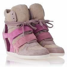"""""""Bowie"""" wedge sneaker by ASH"""