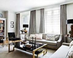 gardinen modern fur wohnzimmer