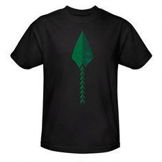 Arrow Logo Adult Black T-Shirt |
