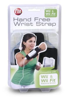 Wii & Wii Fit Hands Free Wrist Strap by CTA Digital From $5.74 Amazing Discounts Your #1 Source for Video Games, Consoles & Accessories! Multicitygames.com Click On Pins For More Info