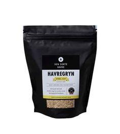 Havregryn Steel Cut - DEN SORTE HAVRE Korn, Protein