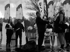 Travelling with camera obscura: Hanami 2015, Roihuvuori. Black and white