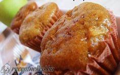 Almás-mézeskalácsos muffin recept fotóval