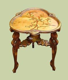Gorgeous-Art-Nouveau-style-Marquetry-TABLE-Galle-design