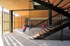 School, Educative  Cultural Center / Marjan Hessamfar  Joe Vérons Architectes