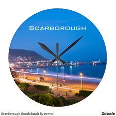 Scarborough South Sands Large Clock