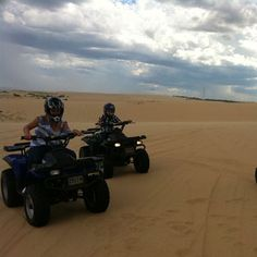 The SandPit Quad Bike Experience Stockton Beach, Newcastle Hunter Valley NSW | RedBalloon