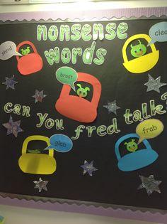 RWI teaches nonsense words to help children decode.