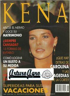 KENA (mexican magazine) - Cover - 1993 - Princess Caroline