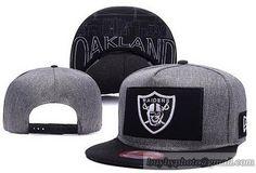 4d997e99b NFL Oakland Raiders Grand Snapback Hats Caps Black Gray Nfl Oakland Raiders