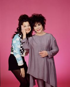 Fran as The Nanny with Guest Star Elizabeth Taylor - loved this episode.
