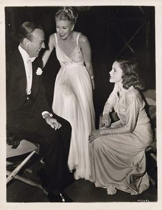 Fred Astaire, Ginger Rogers and Judy Garland