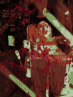 Abstract #Freddy Krueger Nightmare on Elm Street by DamnQueMala #horror #noes