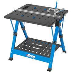 Buy Kreg Mobile Project Center at Busy Bee Tools Portable Workstation, Portable Workbench, Folding Workbench, Workbench Plans, Garage Workbench, Industrial Workbench, Workbench Organization, Electronic Workbench, Industrial Metal