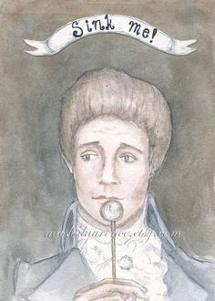 The Scarlet Pimpernel.  Sir Percy Blakeney.  Art by mashalaurence