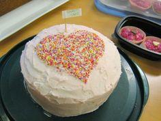 Confetti Cake recipe Confetti Cake Recipes, No Bake Cake, Valentines, Baking, Desserts, Cakes, Food, Valentine's Day Diy, Tailgate Desserts