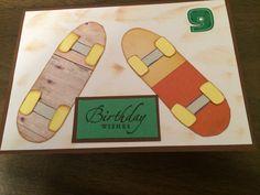 Renner's 9th B-day (skateboards)