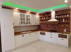 Kitchen Furniture, Furniture Design, Village Houses, Home Kitchens, Kitchen Design, Kitchen Cabinets, Home Decor, Model, Showroom