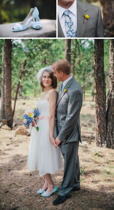 A quaint English brunch wedding in Colorado by Sarah Rose Burns Photography || see more on artfullywed.com