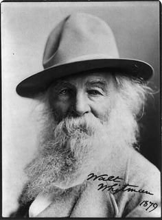 Walt Whitman, Photoprint by Sarony, Miscellaneous Items in High Demand, Library of Congress Prints and Photographs Division. Famous Poets, Famous Men, Famous People, Writers And Poets, Walt Whitman, Book People, Book Writer, Classic Literature, Historical Pictures