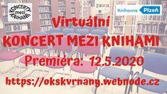 Virtuální koncert mezi knihami