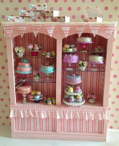 Stunning Cake Display Unit by EliteMiniatures on Etsy, £26.00