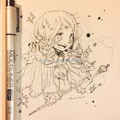 "1,470 Likes, 2 Comments - 橘りた  Tachibana Lita (@lita426t) on Instagram: ""Osage no majo https://www.patreon.com/posts/16972042  #manga #mangaart #mangadrawing #mangapainting…"""
