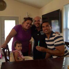 El encuentro de Puerto Rico y México en Texas con nuestra amiga Diana. 25/03/16