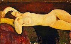 Nudo disteso (1919)  - Modigliani Amedeo (1884-1920) - STAMPA SU TELA € 20,82